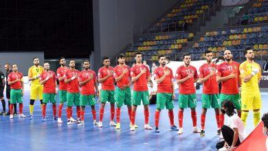 المغربيكتسح مصر برباعية ويتوج بكأس العرب لكرة القدم داخل القاعة 5