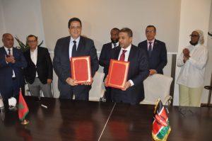 اتفاقية شراكة بين غرفة التجارة والصناعة والخدمات بجهة طنجة ونضيرتها ببومباسا الكينية 2
