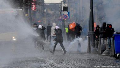 بلجيكا..الأمن يفرق بالقوة مظاهرات رافضة لإجراءات الإغلاق 2