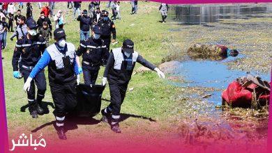 استنفار أمني بعد العثور على جثة رجل ببحيرة الرهراه بطنجة 2