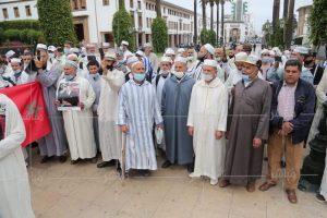 القيمون الدينيون يحتجون أمام البرلمان ضد تعقيد مسطرة تأهيل الأئمة 3