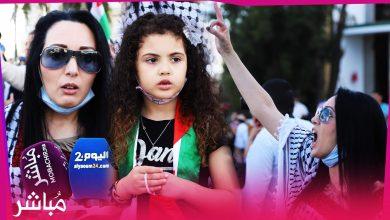 رسالة قوية من زوجة أسير في وقفة مساندة لشعب فلسطين بطنجة 4