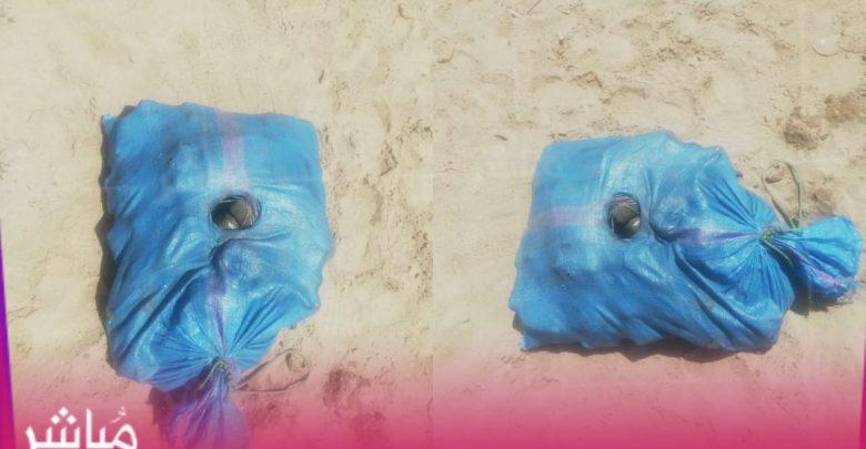 حصري..شاطئ مالاباطا بطنجة يلفظ كميات من الحشيش 1