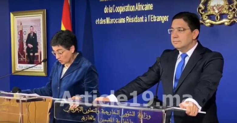 ببلاغ ناري..المغرب يُصعد ضد إسبانيا ويهدد بوقف التعاون الأمني والإستخباراتي 1