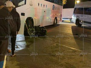 مصرع سائق دراجة نارية في حادثة سير بطنجة 2
