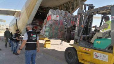 وصول الدفعة الأولى من المساعدات الإنسانية المغربية الموجهة إلى الشعب الفلسطيني 6