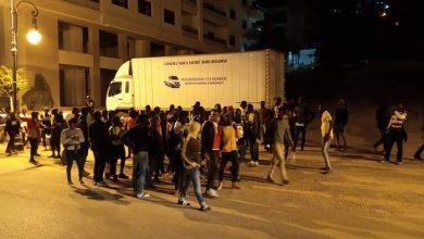 أمن طنجة يستنفر أجهزته لصد هجوم المهاجرين الأفارقة 6