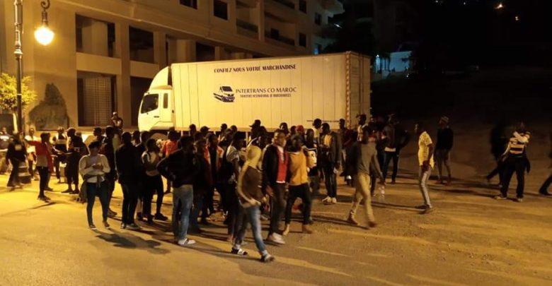أمن طنجة يستنفر أجهزته لصد هجوم المهاجرين الأفارقة 1