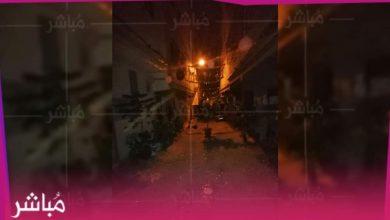 """السلطات تداهم احتفال ليلي بالعيد بحي """"أرض الدولة"""" بطنجة وتعتقل منظمه 5"""