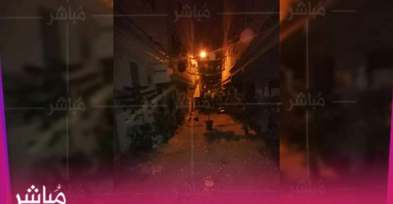 """السلطات تداهم احتفال ليلي بالعيد بحي """"أرض الدولة"""" بطنجة وتعتقل منظمه 1"""