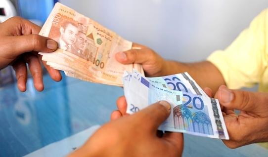 ارتفاع قيمةالدرهم مقابل الأورو بنسبة 0,65 في المائة 1