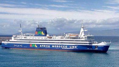 باخرة مغربية تؤمن النقل البحري بين طنجة والبرتغال 5