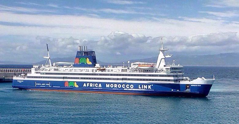 باخرة مغربية تؤمن النقل البحري بين طنجة والبرتغال 1