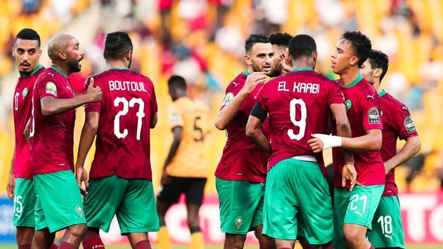 مجموعة المنتخب المغربي تكتمل في كأس العرب 1
