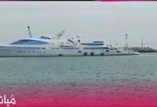 يخت الأمير حمدان آل نهيان يرسو بميناء طنجة وسط استنفار أمني 13