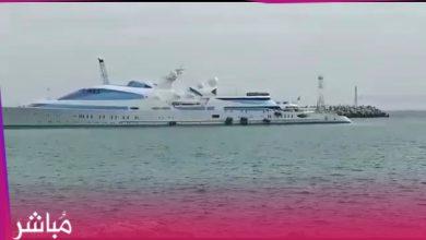 يخت الأمير حمدان آل نهيان يرسو بميناء طنجة وسط استنفار أمني 5