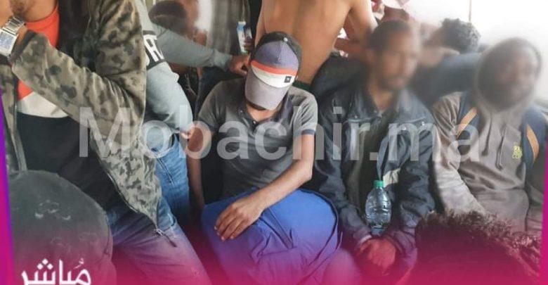 حملات أمنية بشوارع طنجة تسفر عن ضبط عشرات المتشردين وقطاع الطرق 1