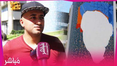 الوالي مهيدية يسمح بإعادة رسم بورتريه ليلى العلوي وصاحب الجِدارية يشكره 4