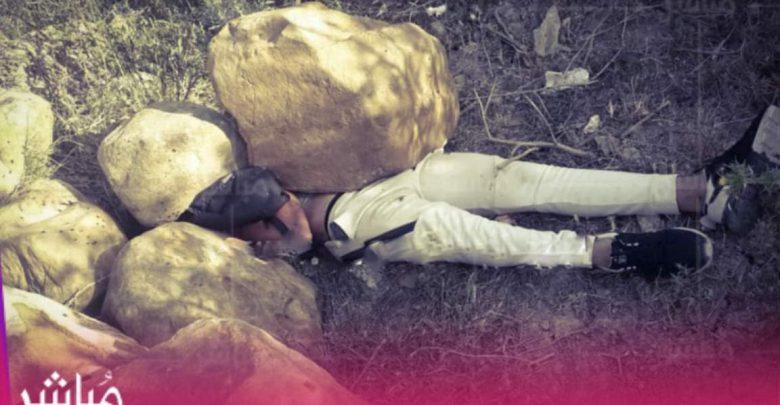 جريمة قتل أم حادث..العثور على جثة شاب تحت صخرة بحي الرهراه 1