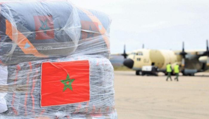 ثلاث طائرات مغربية محملة بالمساعدة الطبية تتوجه إلى تونس 1