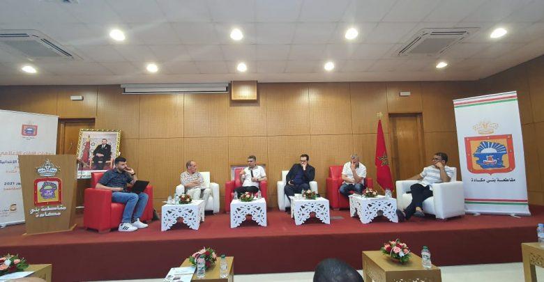 بني مكادة..خيي يعرض حصيلة تسيير أكبر مقاطعة في المغرب 1