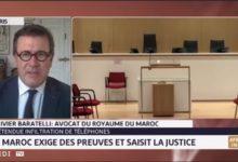 """المحامي باراتيلي: المغرب يتحدى الجميع بتقديم دليل واحد في قضية """"بيغاسوس"""" 3"""