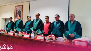 مصطفى هرندو نائب وكيل الملك بطنجة ينال شهادة الدكتوراة بميزة مشرف جدا 2