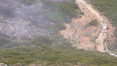 الوقاية المدنية تسيطر على حريق بغابة بليونش ضواحي الفنيدق 6
