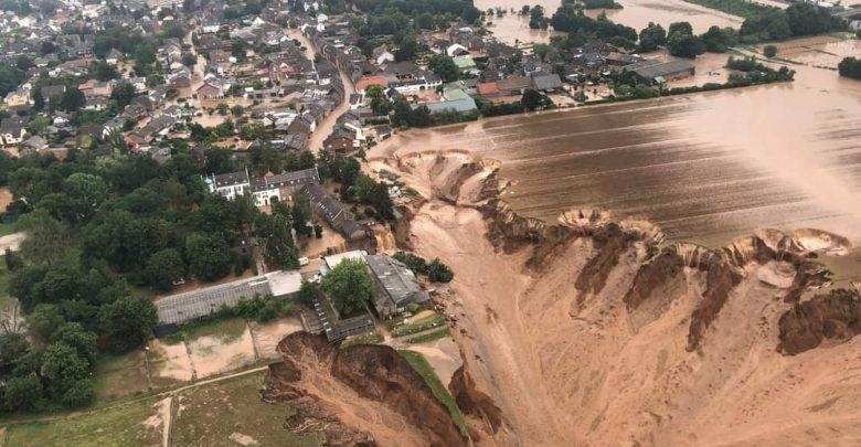 الفيضانات القوية التي اجتاحت عددا من الدول الأوروبية خلفت 118 قتيلا على الأقل 1