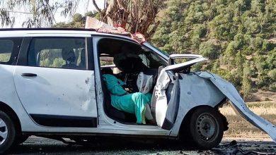 مصرع ثلاثة أشخاص في حادثة سير مميتة ضواحي وزان 3
