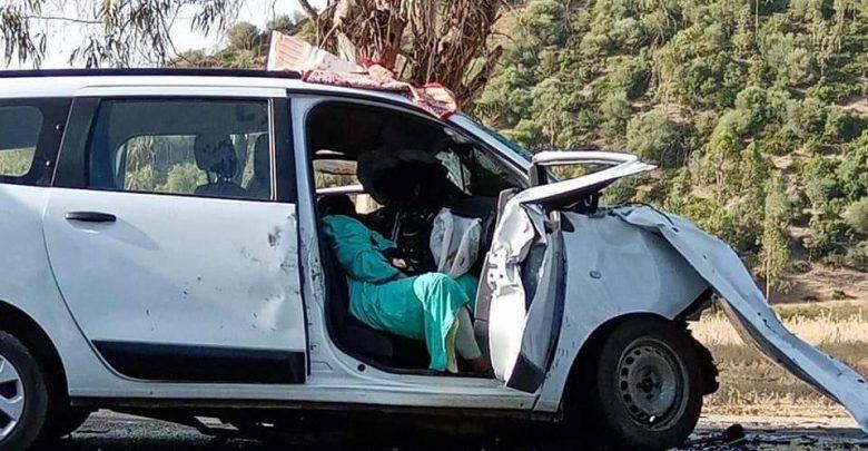 مصرع ثلاثة أشخاص في حادثة سير مميتة ضواحي وزان 1