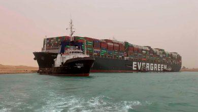 """سفينة """"إيفر غيفين"""" تغادر قناة السويس بعد 100 يوم من الإحتجاز 6"""
