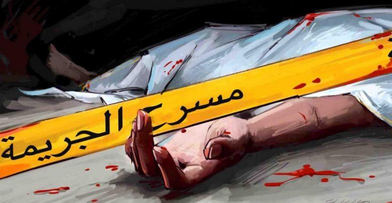 ليلة العيد..شخص يذبح زوجته من الوريد إلى الوريد ويضرم النار في نفسه 1
