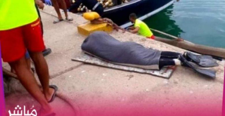 بحر الحسيمة يلفظ جثة غطاس مفصولة الرأس 1