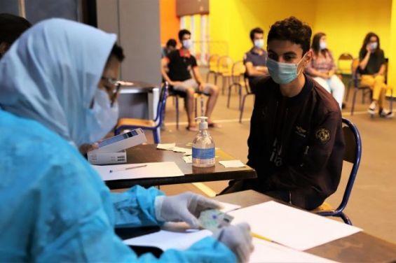 تنظيم عملية تلقيح واسعة تشمل المتمدرسين المتراوحة أعمارهم بين 12 و17 سنة ابتداء من 31 غشت 1