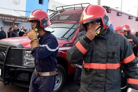"""حريق يأتي على شقة بحي """"بنديبان"""" بطنجة 1"""