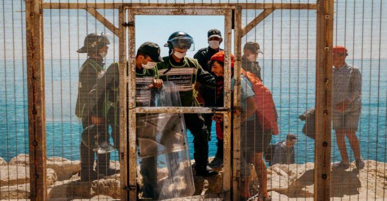 الداخلية تنفي قيام 4 عناصر من القوات المساعدة بالهجرة إلى سبتة 1