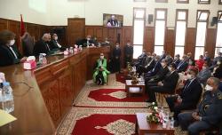 تنصيب الزبير العباسي رئيسا أولا لمحكمة الاستئناف بالحسيمة 2