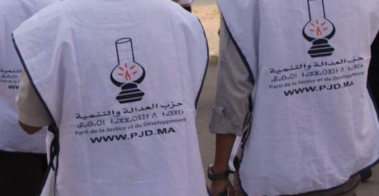 حصري..طرد مناصري حزب البيجيدي في أهم شوارع طنجة 1