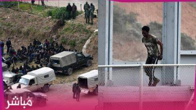 القوات المساعدة تحبط عملية اقتحام جماعي لسياج مليلية المحتلة 5