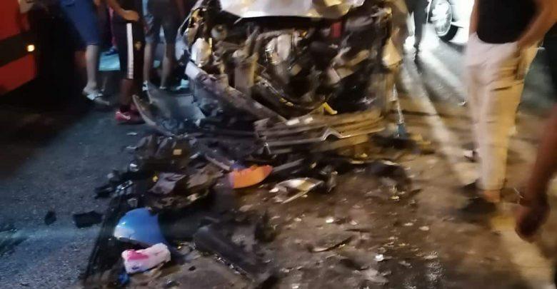 وفاة شابين في حادثة سير خطيرة بطريق الزياتن بطنجة 1