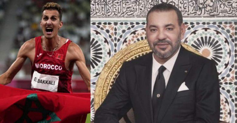 الملك يهنئ البطل المغربي سفيان البقالي بعد تتويجه بالميدالية الذهبية 1