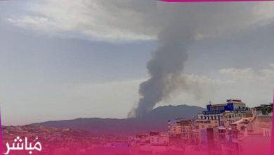 السلطات تسارع الزمن للسيطرة على حريق بغابات شفشاون 5