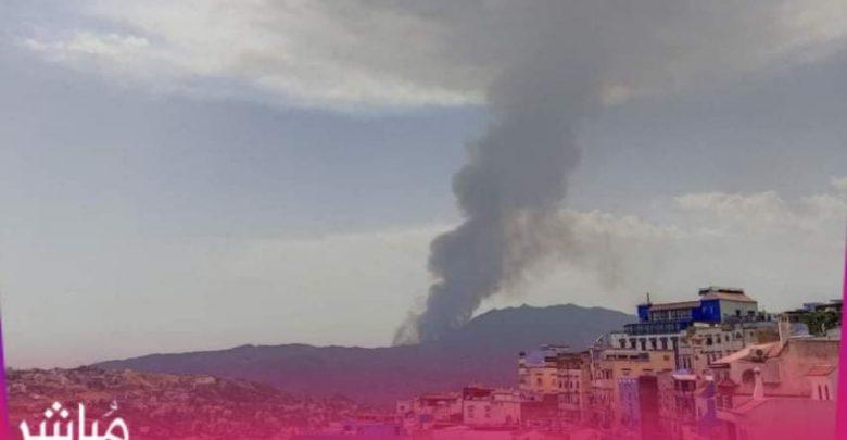 السلطات تسارع الزمن للسيطرة على حريق بغابات شفشاون 1