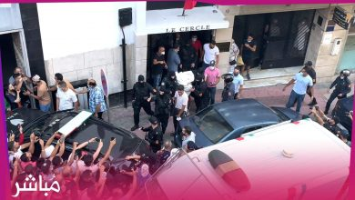 وسط صُياح المواطنين الأمن ينقل قاتل اليهو دي صاحب كازينو طنجة إلى مقر ولاية أمن طنجة 1