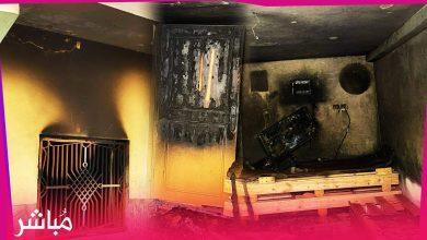 حريق يأتي على شقة سكنية بحي بنكيران بطنجة (فيديو) 2