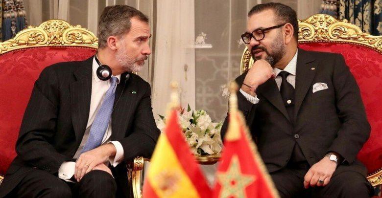 الملك محمد السادس يتوصل ببرقية تهنئة من العاهل الإسباني 1