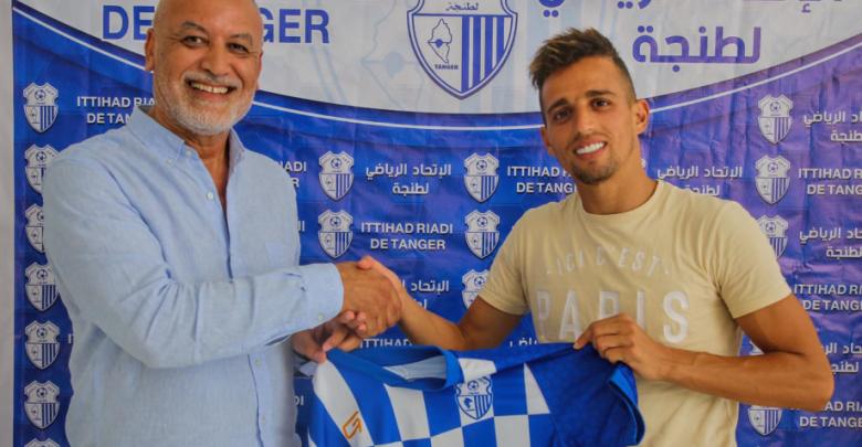 حمودان يعود رسميا إلى نادي إتحاد طنجة 1
