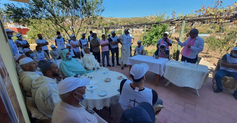 ساكنة جماعة تزورت تدعم نزار بركة وتؤكد ارتباطها التاريخي بحزب الإستقلال 1