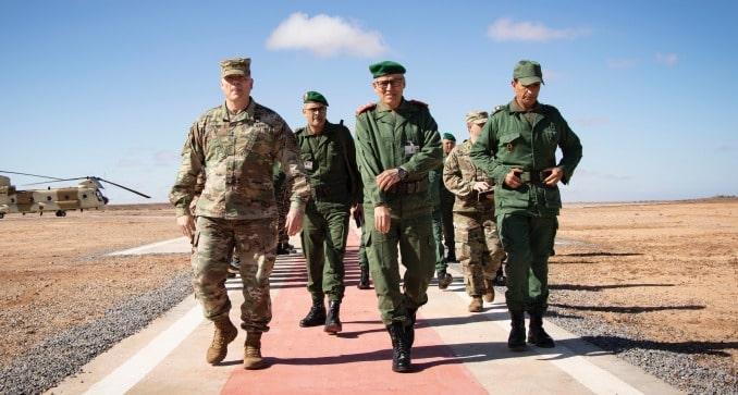 الملك يعين الجنرال بلخير الفاروق قائد عملية الكركرات مفتشا عاما للقوات المسلحة الملكية 1